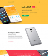 Mobile Repair Service Responsive Landing Page Template