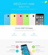 Mobile Store PrestaShop Theme