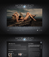 Model Agency web template