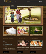 Modern Church v2.5 web template