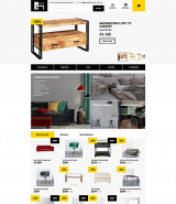 Modern Furniture - Interior & Home Decor Responsive OpenCart Template