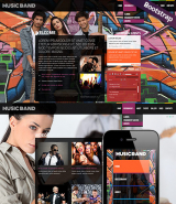 Music Band web template