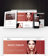 """Naomi"" beauty salon Adobe Muse template"