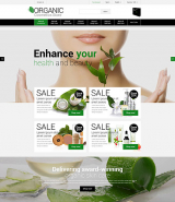 Natural Cosmetics PrestaShop Theme