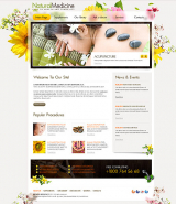 Natural Medicine web template