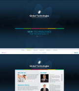 New Technology web template