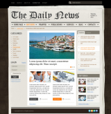 NewsPaper v2.5 web template