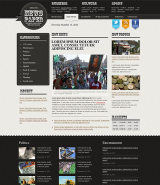 Newspaper web template