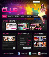 Night club v2.5 web template