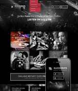 Online Radio Station web template