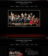 Orchestra web template