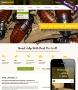 Pest Control v3.5 web template