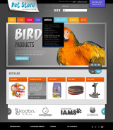 Pet Store web template