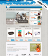 Pets Store web template