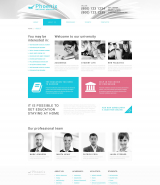 """Phoenix National University"" WordPress Theme"