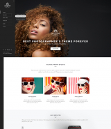 """Photographer"" Wordpress theme with responsive design"
