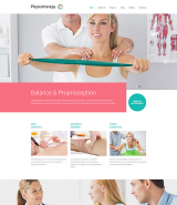 Physiotherapy - Medical Treatment Joomla Template
