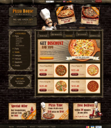 Pizza House 2.3ver. web template