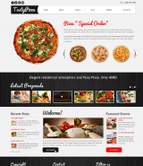 Pizza to Kill Hunger Joomla Template