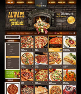 PizzBurg 2.3ver web template