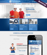 Plumbing & Heating web template