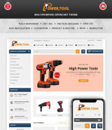 Powertool OpenCart Template