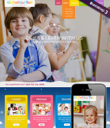 Preschool Theme web template