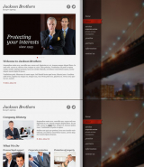Private Lawyer web template