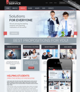 Professional solution v3.0 web template