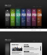 Public Relations web template