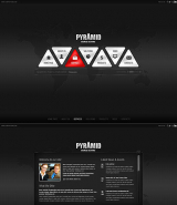 Pyramid Business web template
