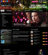 Radio Music FM v3.5 web template