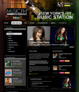 Radio station v2.5 web template