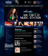 Radio Station v3 web template