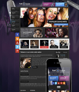 Radio web template