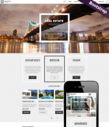 Real Estate web template