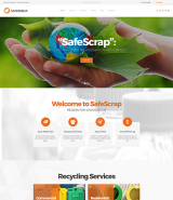 Recycling Services Environmental WordPress Theme