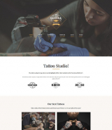 RedInk - Tattoo Salon WordPress Theme