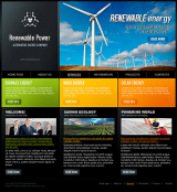 Renewable Power web template