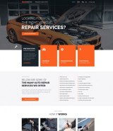 """Car repair service"" WordPress theme"