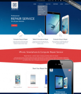 Repair service web template