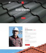 RoofOnFire - Roofing Company Responsive WordPress Theme