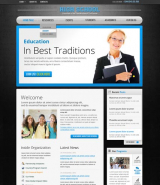 School v2.5 web template