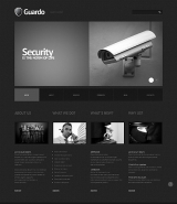 Security Responsive WordPress Theme