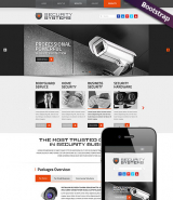 Security Service web template