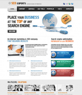 SEO web template