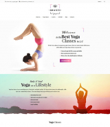 Shanti - Yoga Studio WordPress Theme