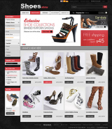 Shoes Store 2.3ver web template