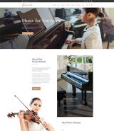 Singerella - Music School WordPress Theme