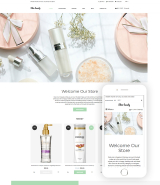 Skin beauty - Cosmetics Store Clean Shopify Theme